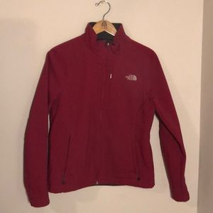 The North Face Apex Jacket in Raspberry